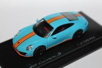 1/64 Kyosho OEM PORSCHE 911 Carrera S #2 - 1/87 SCHUCO & 1/64 KYOSHO ミニカーコレクション byまさーる