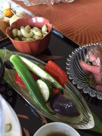2018年8月アンコ-ルレッスンの募集~夏野菜の中華風冷製揚げ浸し - Blooming Kitchen 坂の上の小さな料理教室