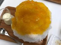 【埜庵】夫が食べたマンゴーと夏いちご【さいか屋夏季出張所】 - お散歩アルバム・・暑い日にはかき氷