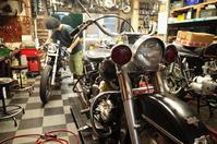 水曜日の授業風景 - Vintage motorcycle study