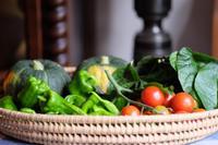 自家栽培のお野菜 - カンパーニュママの暮らしの雑貨とポメプーころすけと日々の出来事日記