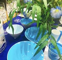 暑い日のおもてなしの器 - Table & Styling blog