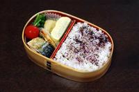 サバの干物 - 庶民のショボい弁当