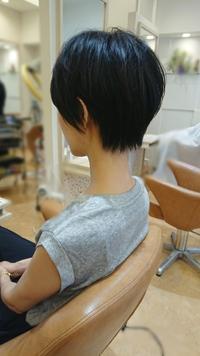 ショートヘアで涼しく☆ - bis emika