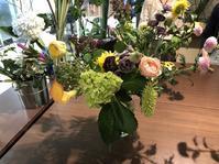 7月のお花教室&アフター - リタイア夫と空の旅、海の旅、二人旅