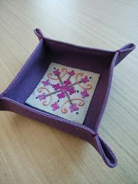 カッチワーク頑張りました at ヴォーグ学園天神校 - 手刺繍屋 Eri-kari(エリカリ)