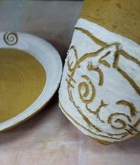 ■今日のお仕事■ - ちょこっと陶芸