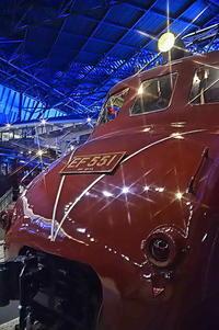 EF55電気機関車 ムーミン - 風の香に誘われて 風景のふぉと缶