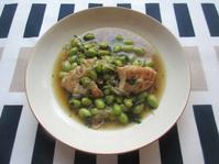 <イギリス料理・レシピ> 鶏肉と枝豆の味噌シチュー【Chicken and Edamame Miso Stew】 - イギリスの食、イギリスの料理&菓子