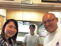 半藤先生が、東京から夏休みで帰省で、一鍼に来てくれました - 東洋医学総合はりきゅう治療院 一鍼 ~健やかに晴れやかに~