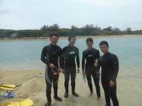 大人数で ~ダイバー入門コース~ - 沖縄本島最南端・糸満の水中世界をご案内!「海の遊び処 なかゆくい」