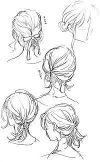 涼しい髪型ラフ 1 - 山田南平Blog