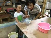 釉薬掛けウィーク - 週末陶芸家 フジサキウサジ