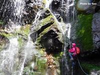 尾瀬美滝がいっぱい中ノ岐沢小渕沢Stream Climbing in Obuchizawa, Oze National Park - やっぱり自然が好き