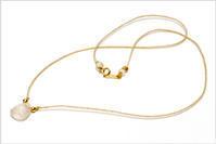 装身具 古代水晶のネックレス - nazunaニッキ