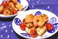 シーフードとミニトマトのガパオ炒め~スパイス大使 - ~あこパン日記~さあパンを焼きましょう