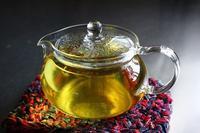 菊花茶ゼリー - 満足満腹  お茶とごはん