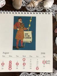 ●2018年8月の営業のお知らせです - 英国古物店 PISKEY VINTAGE/ピスキーヴィンテージのあれこれ