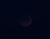 未明の皆既月食、そして夜は頓原の花火 - じじ & ばば の Photo blog