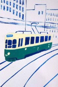 台風の日 - たなかきょおこ-旅する絵描きの絵日記/Kyoko Tanaka Illustrated Diary