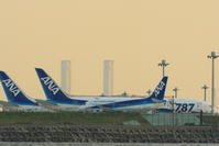 HND - 396 - fun time (飛行機と空)