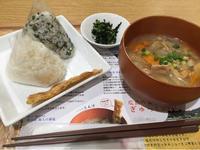29日 おむすびと豚汁セット@膳七 - 香港と黒猫とイズタマアル2