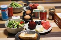 二人の朝食 - 手作りパン教室 Runrun  大阪 堺 天然酵母
