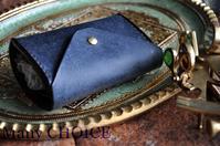 コインキャッチャー財布の最終形態。2つ折りコインキャッチャー財布(改)について。 - 時を刻む革小物 Many CHOICE~ 使い手と共に生きるタンニン鞣しの革