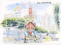祇園祭2018大船鉾辻回し - 風と雲