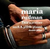 maria rudman Double Point faie in JUILLET - JUILLET