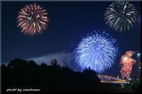 花火の画像加工 - 北海道photo一撮り旅