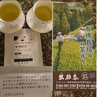 有機栽培のおいしい有機煎茶のティーバッグいただいています。 - 初ブログですよー。
