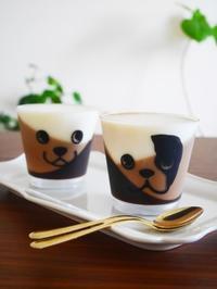 3色カフェゼリーと梅ジュース - This is delicious !!