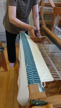 Kさんのラーヌ織 - 大分手織物語り