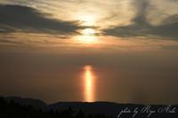 オホーツクに沈む夕日 - Ryu Aida's Photo