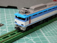 Tomixの♯7102 EF81 450を角目にする  塗装開始 - Sirokamo-Industry