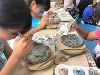 【教室リポート 🌻】 - 出張陶芸教室げんき工房