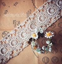 羊毛とお花のコラボ - galette des Rois ~ガレット・デ・ロワ~