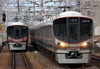 大阪環状線の323系 - きょうはなに撮ろう