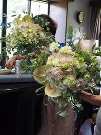 オランダの花やさん  ヒームストラ舞先生セミナー - 花伝からのメッセージ           http://www.kaden-symphony.com
