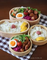ササミのから揚げとゴーヤーちゃん ✿ ネバネバまぐろ丼(๑¯﹃¯๑)♪ - **  mana's Kitchen **