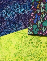 バティックとサボテン - ほっと一息・・~Sakura's Hawaiian QuiltⅡ