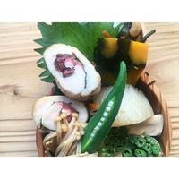 ササミ梅紫蘇巻きBENTO - Feeling Cuisine.com