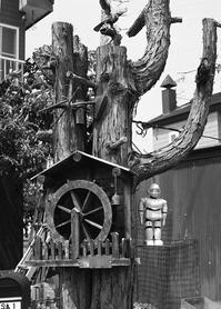 自然木の門柱 - 照片画廊