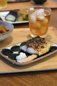 焼き鯖と甘湯葉のおひたし - KICHI,KITCHEN 2