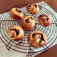 パン オ レザンとワンプレート - カフェ気分なパン教室  ローズのマリ