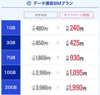 DMM mobileはデータSIMキャンペーンが熱い!6ヶ月10GBプランが月額1095円 - 白ロム転売法