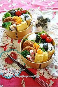 焼き明太子入りおむすび弁当と今夜のおうちごはん♪ - ☆Happy time☆