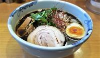 麺処葵 さんまブラックらーめん 大盛 - 拉麺BLUES