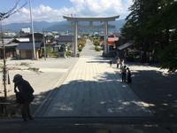諏訪大社上社本宮 2018年 夏 - 散歩ガイド